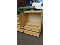 Tallboy with matching drawers (delivery available)