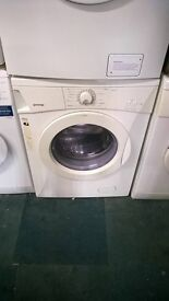 white gorenje 6kg 1200 spin washing machine