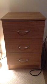 3 drawer bedroom cabinet for sale