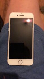 Silver iPhone 7 for sale, 32gb