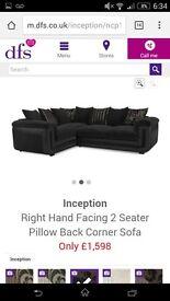 BRAND NEW DFS Inception corner sofa