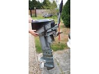 Johnson 15hp long shaft 2 stroke outboard engine