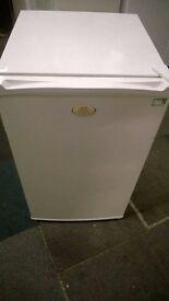 white daewoo undercounter fridge freezer