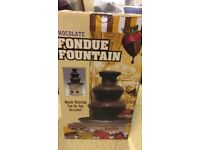 chocolate fondue fountain brand new and sealed