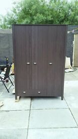 Brand new Marlow 3 door 1 draw wardrobes