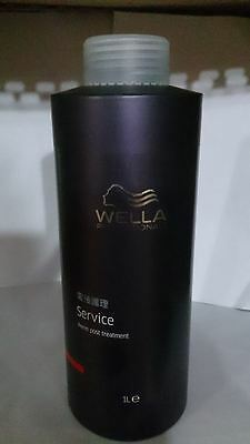 2 pcs WELLA PROFESSIONALS SERVICE PERM POST TREATMENT 1000ml