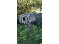 Green Eglu Cube Chicken Coop with 3 metre fox proof run - collect from nr Hebden Bridge