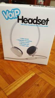Brand new Belkin VOIP Headset valued $45 for $15