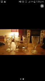 6 glass sunday glasses