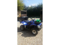 KYMCO ROAD LEGAL MXU 300 250CC QUAD BIKE WITH TRAILER FOR SALE