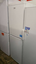 Z145 beko 6ft fridge freezer new 12 months warranty can be delivered or collected
