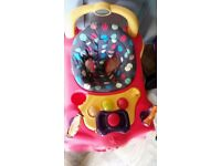 Baby walker in gd condition hardly been used and u can wash the baby walker cover