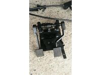 Used he man dual control pedals to fit hyudai i20 2012-2015
