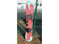 APO 154 Snowboard. Only 2 seasons old. Ideal beginners board
