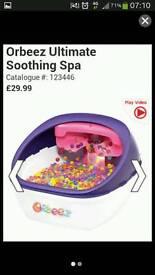Orbeez foot spa