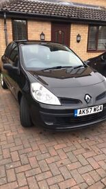 Renault Clio, Black, 99460 miles, 2007 plate, great for first car!