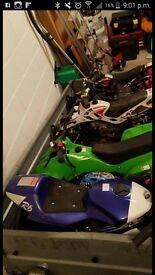 Childrens Green quad bike 50cc