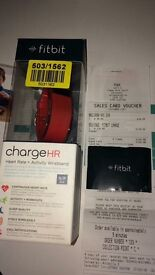 FitBit Charge HR Red - size S
