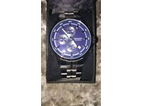 Blue and Silver Sekonda Watch (Brand New)