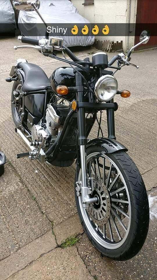 Ajs daytona 250cc reg as 125cc
