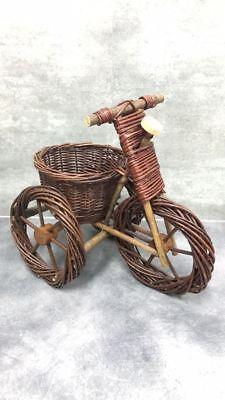 Wicker Bike flowerbed
