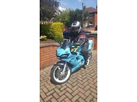 2000 Yamaha R6 Sky Blue - Very fast and beautiful bike !