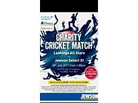 Charity Family Fun Day & Celebrity Cricket Match