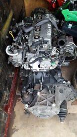 Engine and gearbox RF7J WARRANTY 87K