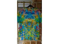 Tie Dye Clothing wholesale . ( Tee shirts, socks, baby grows)