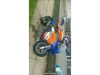 2 mini moto midi moto 50cc
