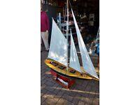Metcalf Mouldings 'Moonbeam' Scale Radio Control Model Sailing Boat