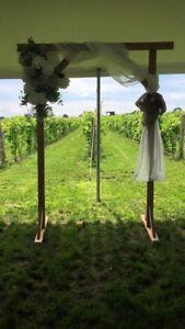 Arche pour mariage