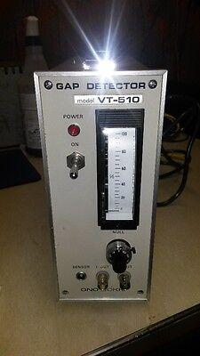 Ono Sokki Gap Detector Vt-510