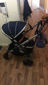 Icandy peach three in Royal £600 one year old excellent condition