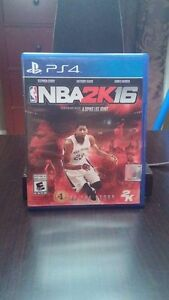 NBA 2k16, no scratches, perf condition