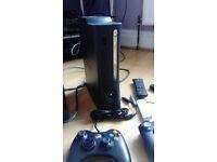 Xbox 360 Elite 120GB Matte Black Console with games