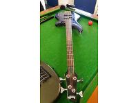IBANEZ 4 string electric guitar