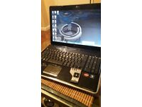 HP laptop with remote control