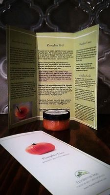 Strongest Pumpkin Peel 30  Tca 30   35  Lactic Glycolic Face Mask Chemical Peel
