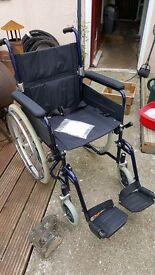 Bariatric wheel chair in good condition