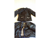Richa textile motorcycle jacket XL with impact protection armour