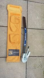 Towing stabilizer bar and bag