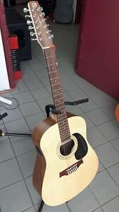 Guitare 12 cordes usagé avec pick-up Isyst Seagull