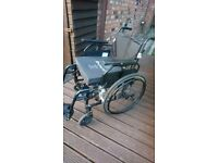 Like new wheelchair with cushion