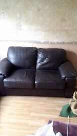 2 seater sofa good condition collection only