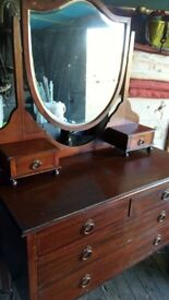 Lovely old antique dresser