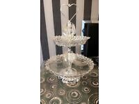 Luxury Dessert Tray Cake Stand Holder Cupcake Party Decoration