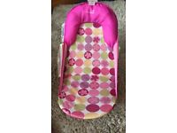 Summer infant baby bath support pink