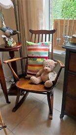 Ercol small Adult rocking Chair
