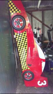 Kids racing car bed and mattress Herne Hill Geelong City Preview